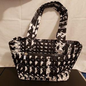 Sondra Roberts Squared purse & make up bag